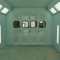 Cross Draft Spray Booth