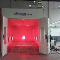 Infrared (Movable) Spray Booth BY-2