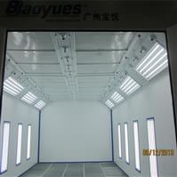 Spray Booth with Water-Borne Paint System BY-6